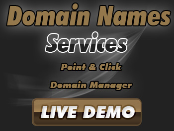 Affordably priced domain name registration services